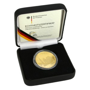 100 Euro Goldmünze 2012 - UNESCO Welterbe Dom zu Aachen