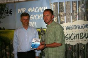 Prof. Christian Kreiß und Klaus Reddmann