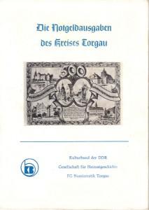 Torgauer Notgeld Broschüre