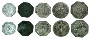Notgeldmünzen der Stadt Belgern 1917-1918
