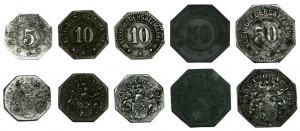 Notgeldmünzen der Stadt Torgau 1917-1919