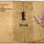 Gefangenenlager Notgeld 1 Mark