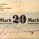 Gefangenenlager Notgeld 20 Mark