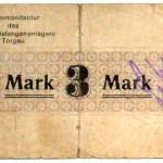 Gefangenenlager Notgeld 3 Mark