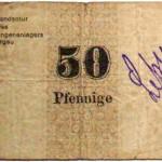 Gefangenenlager Notgeld 50 Pfennige
