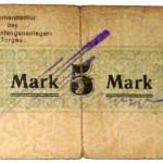 Gefangenenlager Notgeld 5 Mark