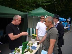 Dirk Bokermann beim Tag der Sachsen 2013 in Schwarzenberg