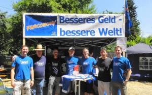 Für fließendes Geld: Stammtisch Stuttgart