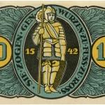 Torgauer Notgeld 1921 10 Pfennig Variante 2 Rückseite