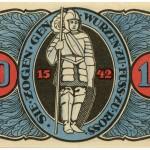 Torgauer Notgeld 1921 10 Pfennig Variante 3 Rückseite