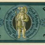Torgauer Notgeld 1921 25 Pfennig Variante 1 Rückseite