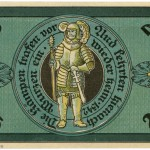 Torgauer Notgeld 1921 25 Pfennig Variante 2 Rückseite