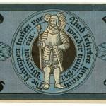 Torgauer Notgeld 1921 25 Pfennig Variante 3 Rückseite