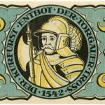 Torgauer Notgeld 1921 5 Pfennig Variante 2 Rückseite
