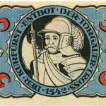 Torgauer Notgeld 1921 5 Pfennig Variante 3 Rückseite