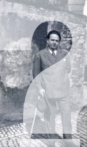 Kurt Tucholsky 1928 in Paris